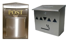 Cigarette Bins / Post Boxes