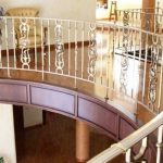 Brass Balustrading and Handrails from 'Grande Forge'.